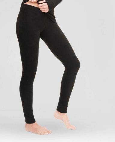 Black Fleece Leggings from Target