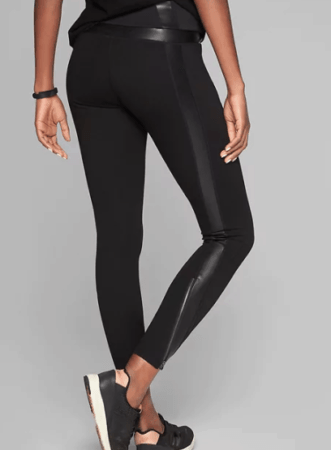 Fancy black leggings