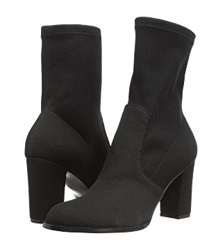 Soft black sock boots by Chinese Laundry