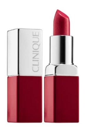 Clinique red lipstick
