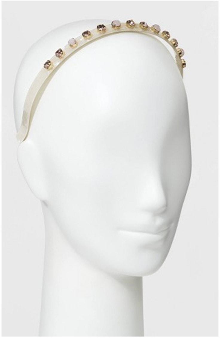 Gem rhinestone headband
