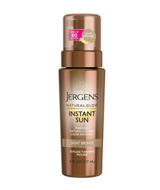 Jergens Instant Glow self tanner