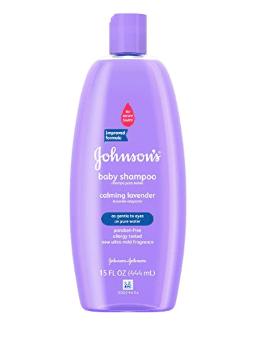 Johnson's Baby Shampoo with Lavendar