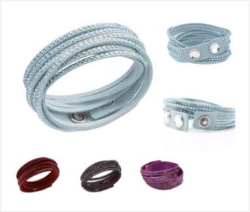 Swarovski Alcantara Bracelet