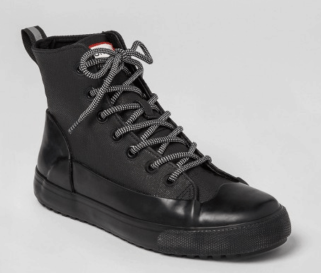 Black sneakers from Hunter for Target