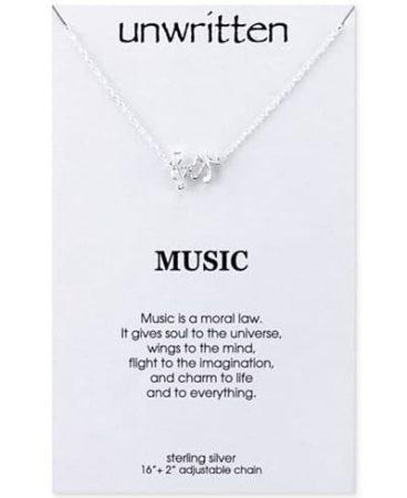 Music themed pendant