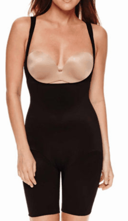JCPenney shapewear: one piece that you wear with your own bra