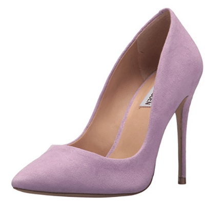Pink heels from Amazon Prime Wardrobe