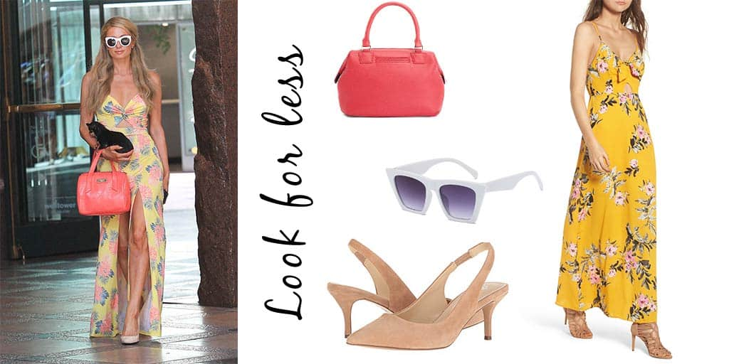 Paris Hilton Look for Less
