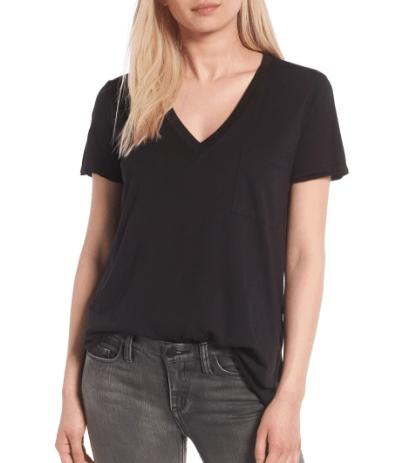 Nordstrom Black T Shirt