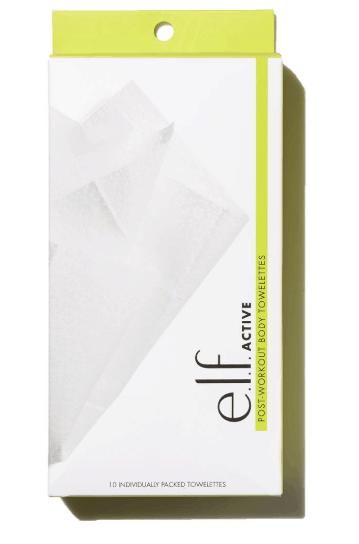 Elf post workout beauty towelette