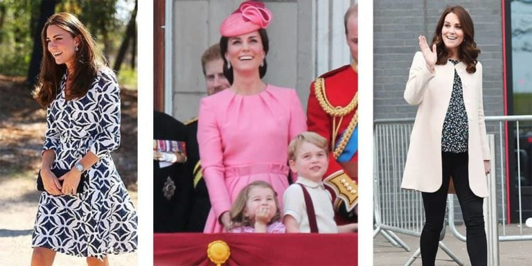 three looks by kate middleton