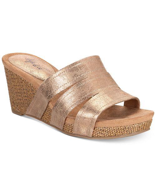 rose gold platform sandals