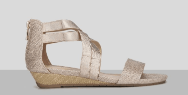 Low-heeled wedge from Kenneth Cole