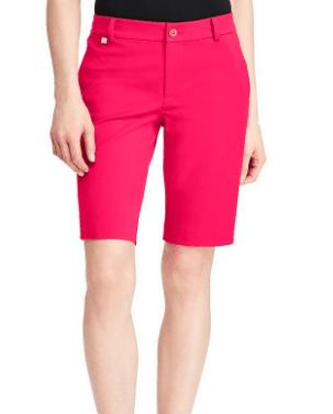 Pink Bermuda shorts