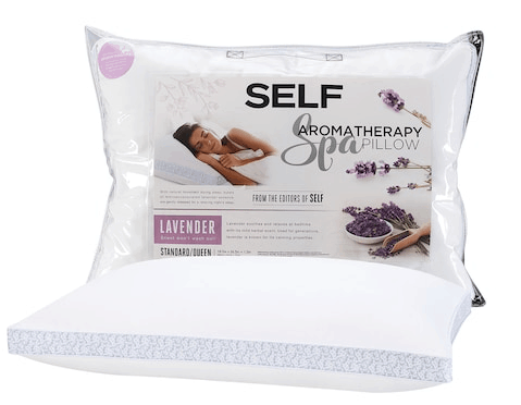 Aromatherapy spa pillow