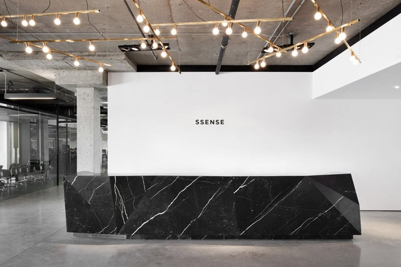 Ssense store in Montreal