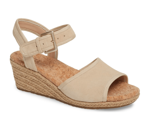 Wedge sandal by UGG