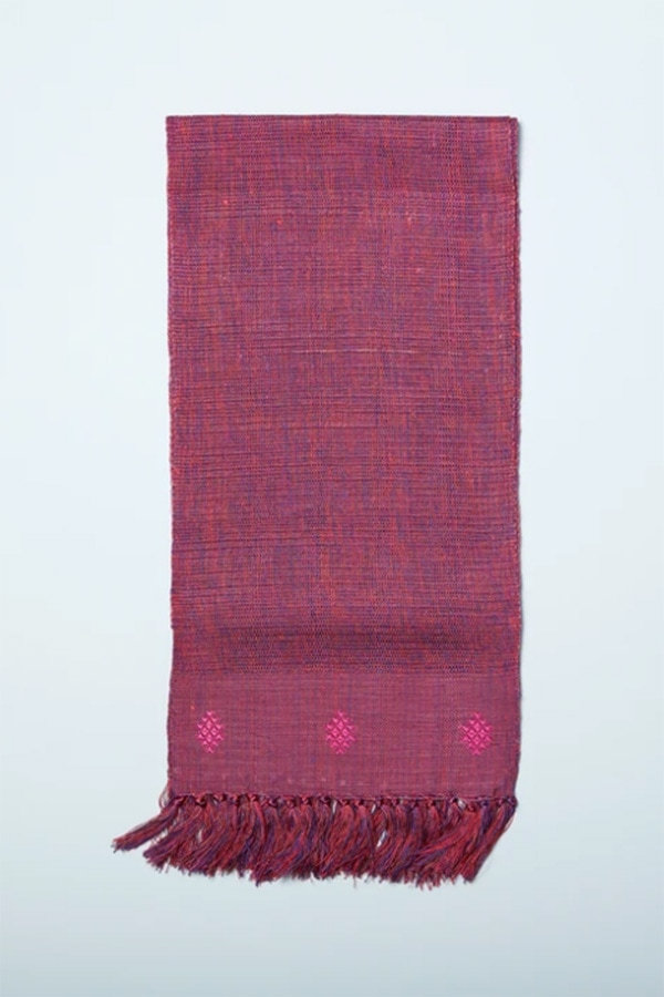 Scarf by Anna in Bhutan