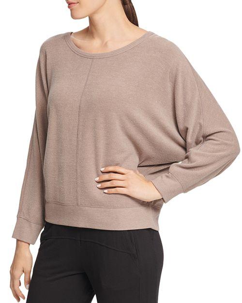 Brown dolman sleeve sweatshirt
