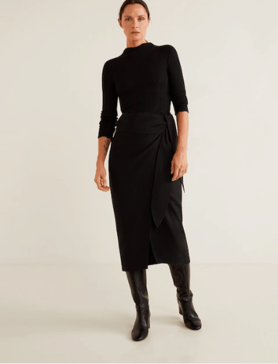 Mango Wool Skirt - Sustainable Fashion brands