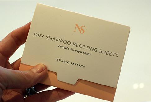 Nunzio Saviano dry blotting sheets