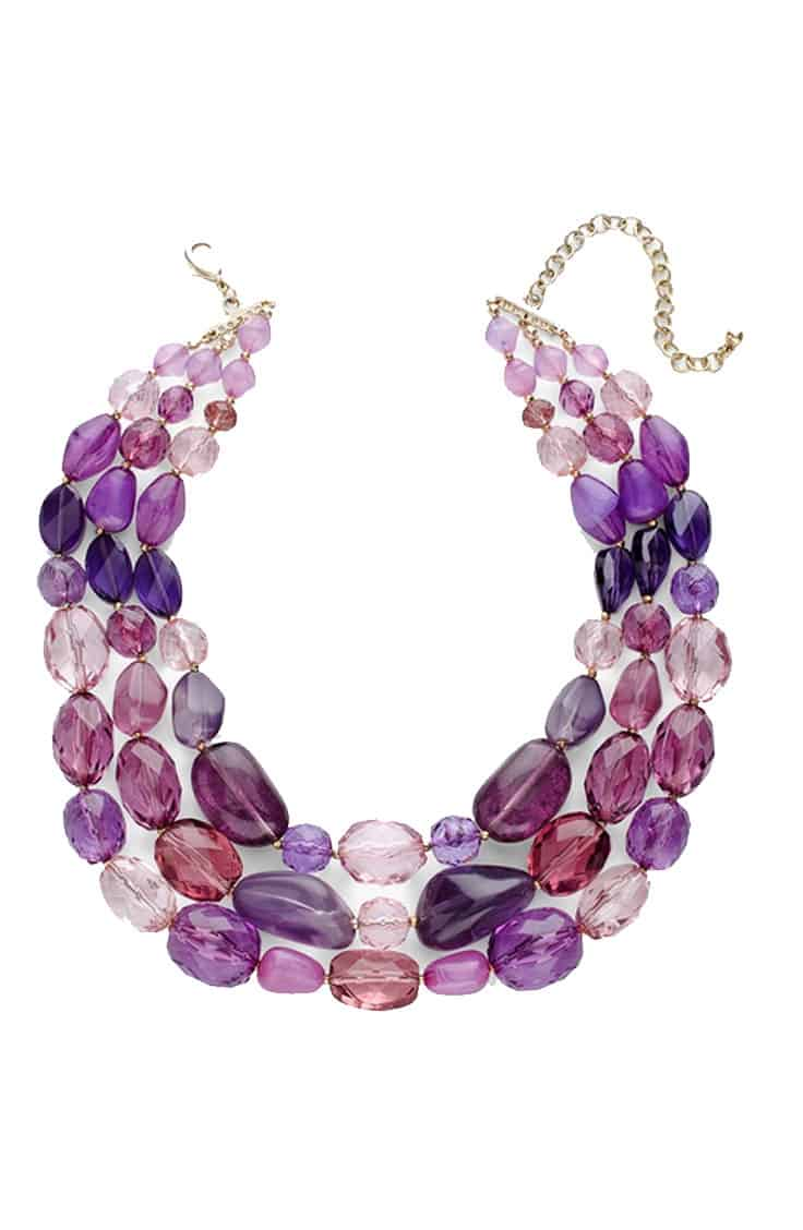 Multicolored necklace at Chicos on sale for Black Friday