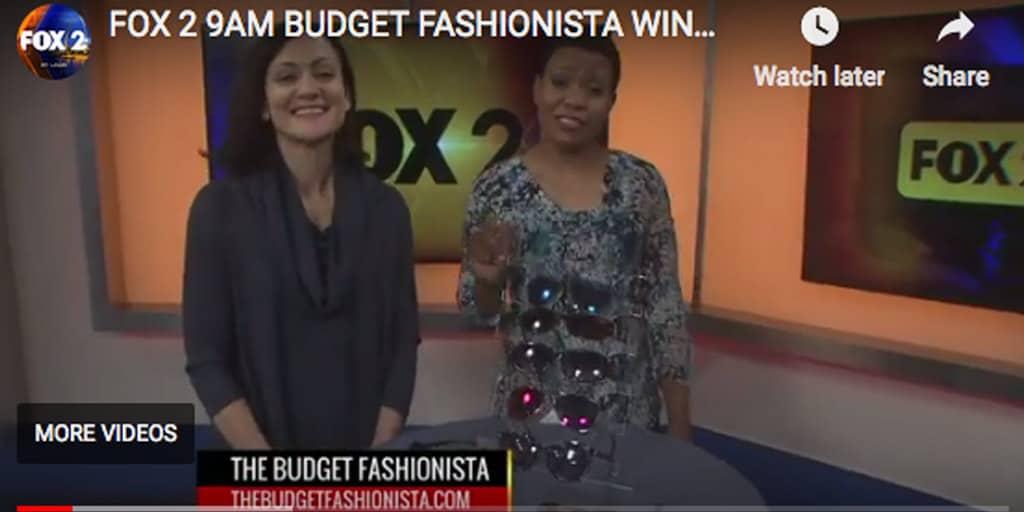 Catherine Brock The Budget Fashionista on FOX2 News