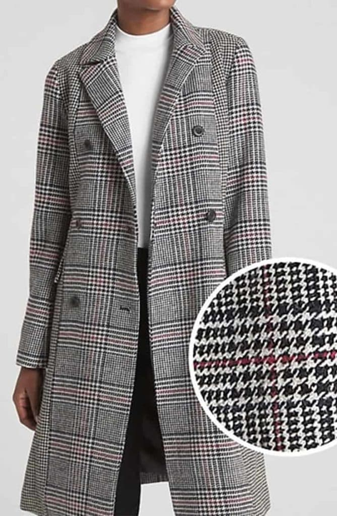 Gap Plaid Coat
