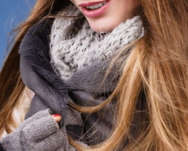Layered outfits: woman wearing layered winter outfit
