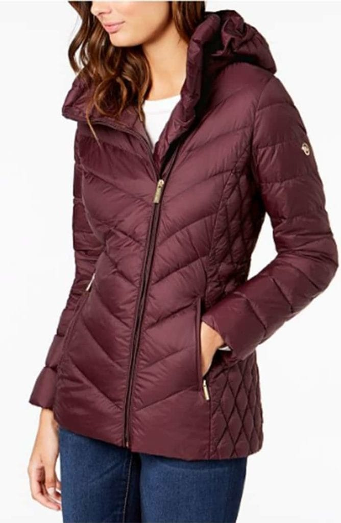 Michael Kors Sleek Puffer Coat