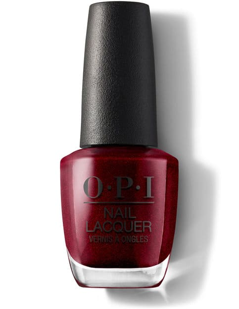 OPI I'm not really a waitress nail color