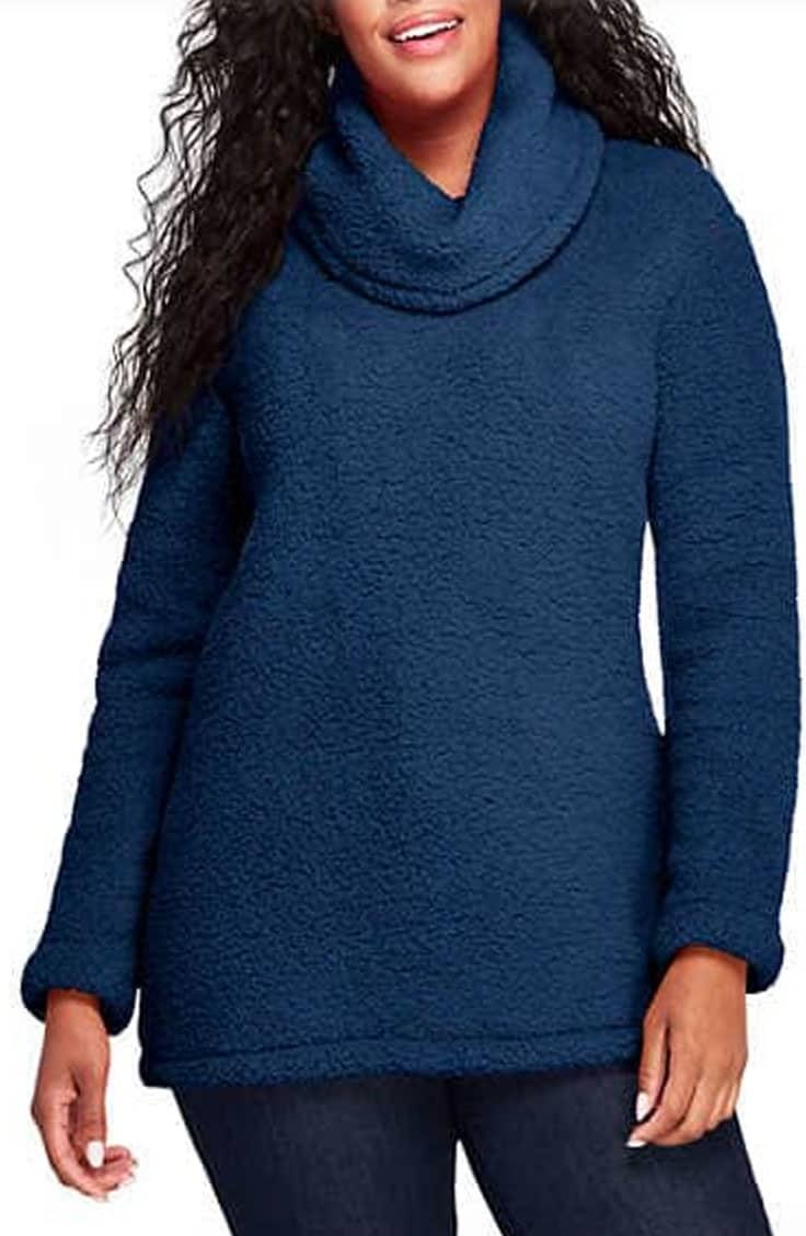 Sherpa fleece on sale for Black Friday at Lands End