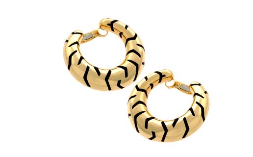 Tiger Striped Earrings