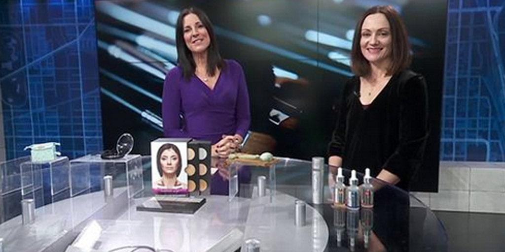 Catherine Brock on WGN TV