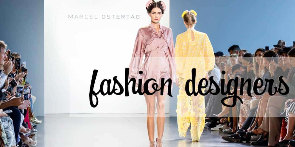 Fashion designers — Marcel Ostertag runway show