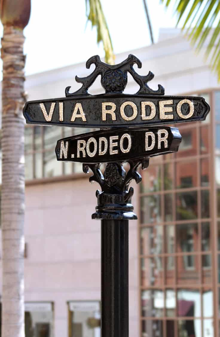 Rodeo Drive Street Sign