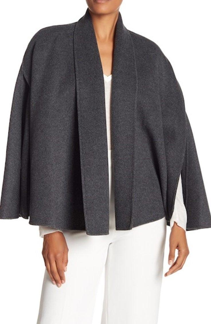 Gray cape from Tahari
