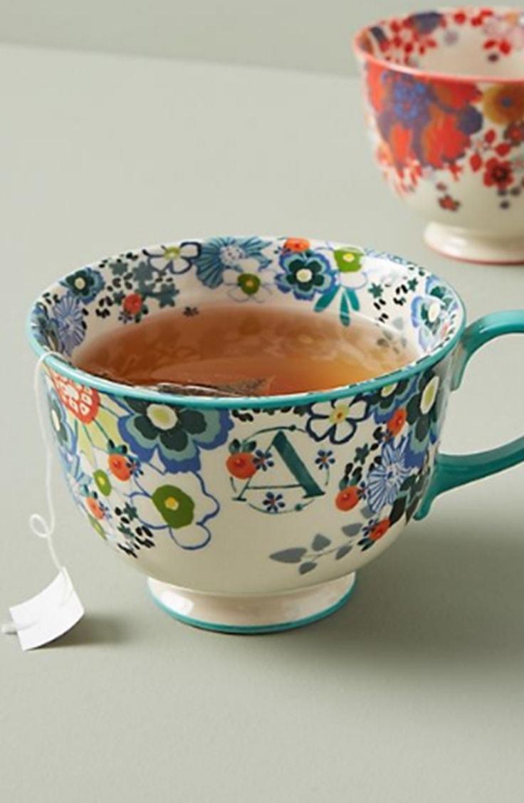 Anthropologie Tea Mug