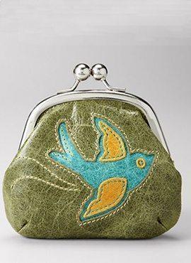 Candy frame coin purse