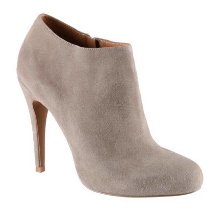 Tan heeled bootie