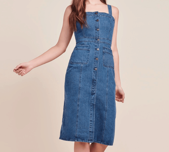 Denim dress by BB Dakota