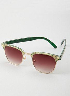 Floral shannen sunglasses