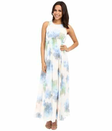 floral maxi dress to wear to summer wedding