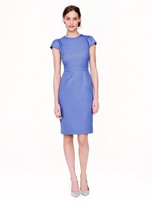 What to wear to a summer wedding: Puff Sleeve Dress in Super 120