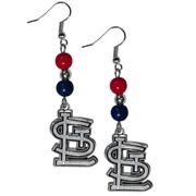 Cardinals earrings