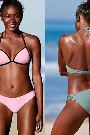 Best swimsuit colors to wear when you have dark skin