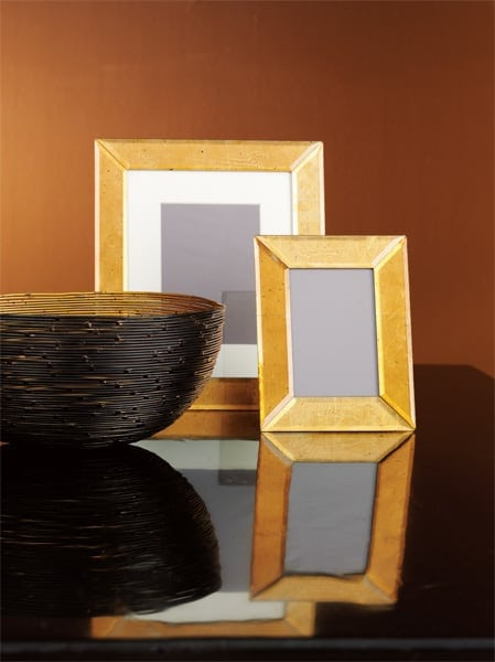picture frame and bowl
