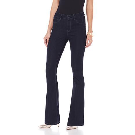 Flared leg jeans