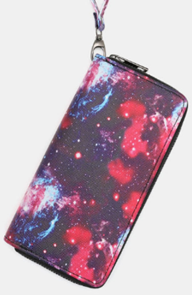 Galaxy themed wallet